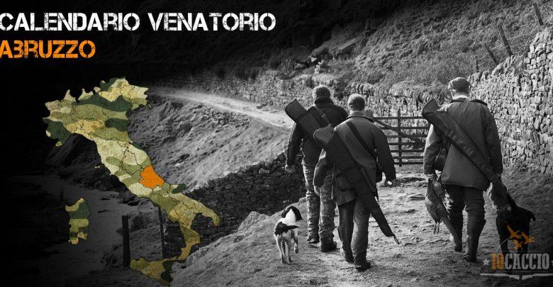Calendario Regionale Abruzzo.Calendario Venatorio Abruzzo 2019 2020 Iocaccio It