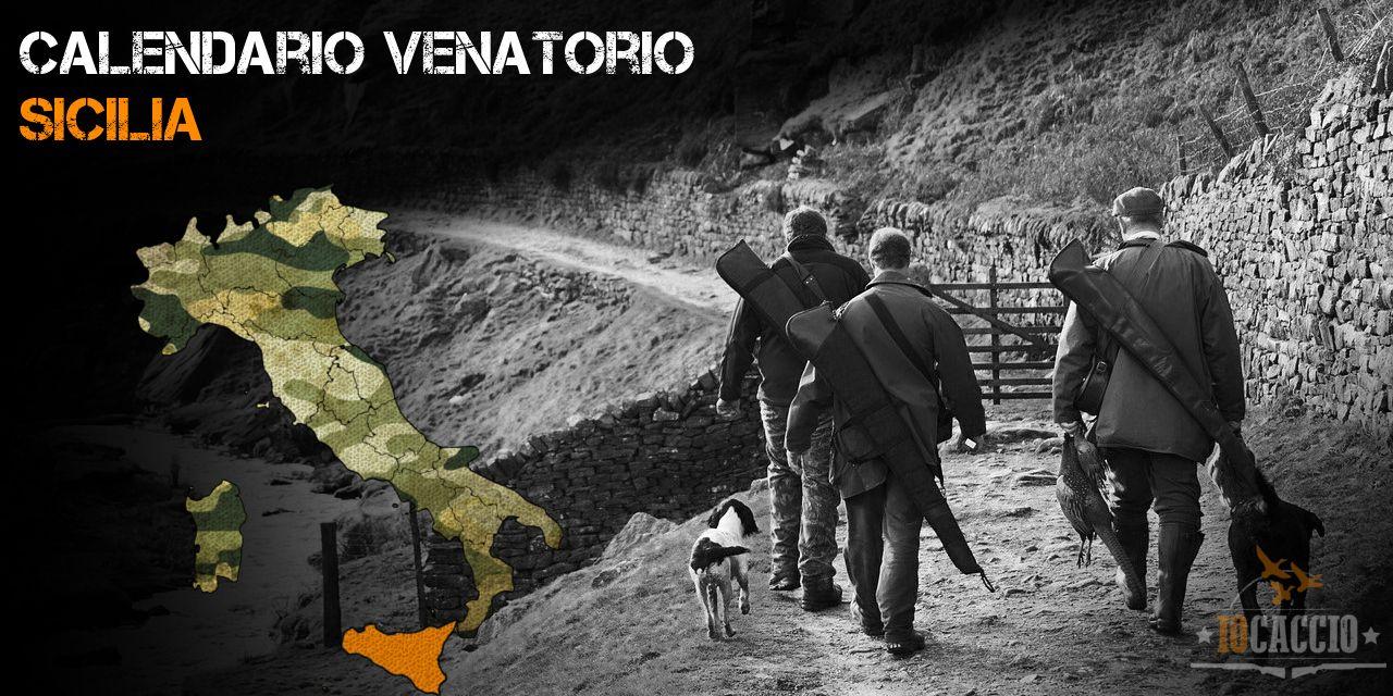 Calendario Regionale Sicilia.Calendario Venatorio Sicilia 2019 2020 Iocaccio It