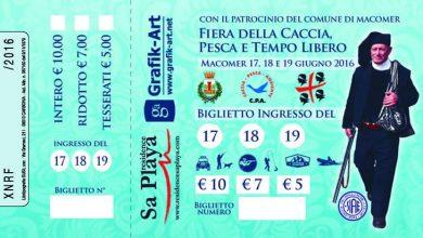 Photo of Biglietti fiera della Caccia di Macomer: ecco come acquistarli in prevendita (e risparmiare)