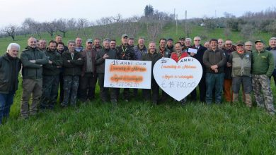 solidarietà cacciatori veneti