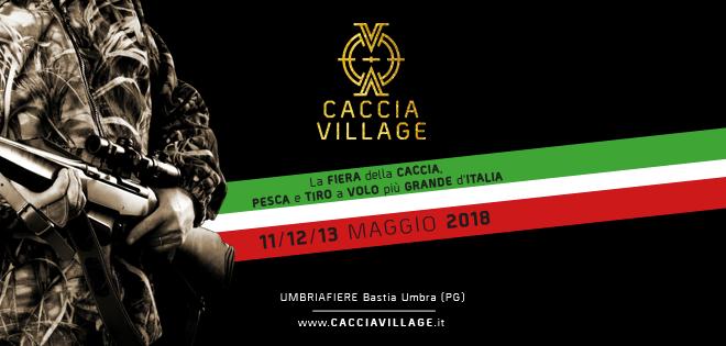 Caccia Village 2018, torna dal 11 al 13 maggio con una veste rinnovata