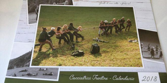 Presentata l'edizione 2018 del Calendario delle Cacciatrici Trentine