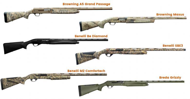 Fucili caccia anatre