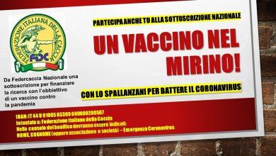 Photo of Federcaccia al fianco dello Spallanzani: nuova raccolta fondi contro il Coronavirus