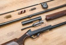 Pulizia fucile caccia